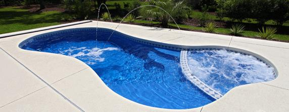 San Juan Pools - Pucho Pool Center fiberglass swimming pools