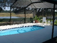 Palm Beach Fiberglass Pool in Fayetteville, OH